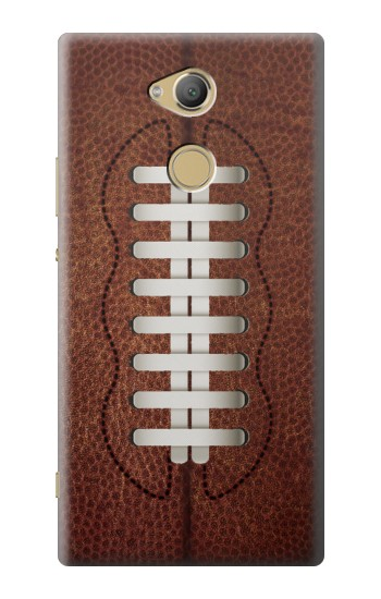 Printed Leather Vintage Football Sony Xperia XA2 Ultra Case