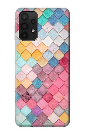 Printed Candy Minimal Pastel Colors Samsung Galaxy A32 5G Case
