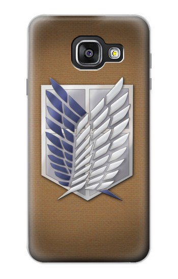 Printed Recon Troops Attack on Titan Samsung Galaxy A3 (2016) Case