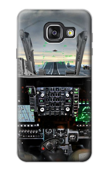 Printed Fighter Jet Aircraft Cockpit Samsung Galaxy A3 (2016) Case