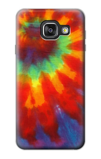 Printed Colorful Tie Dye Fabric Texture Samsung Galaxy A3 (2016) Case