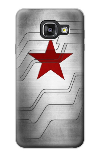 Printed Winter Soldier Bucky Arm Texture Samsung Galaxy A3 (2016) Case