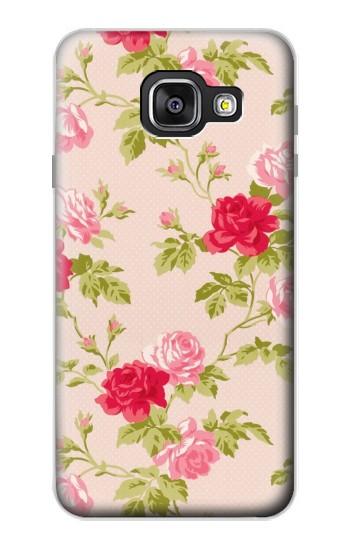 Printed Pretty Rose Cottage Flora Samsung Galaxy A3 (2016) Case