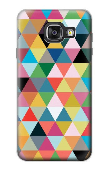 Printed Triangles Vibrant Colors Samsung Galaxy A3 (2016) Case