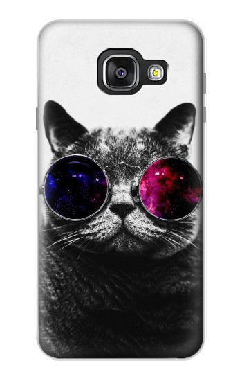 Printed Cool Cat Glasses Samsung Galaxy A3 (2016) Case
