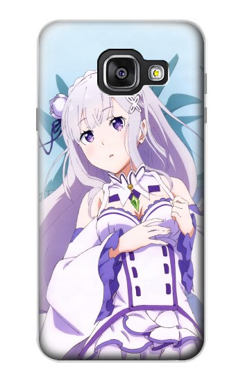 Printed Emilia Re Zero Starting Life in Another World Samsung Galaxy A3 (2016) Case