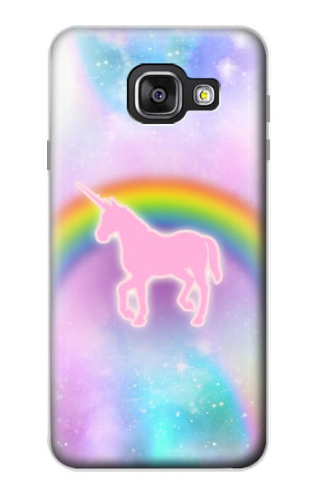 Printed Rainbow Unicorn Pastel Sky Samsung Galaxy A3 (2016) Case