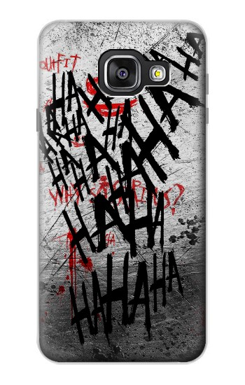 Printed Joker Hahaha Blood Splash Samsung Galaxy A3 (2016) Case