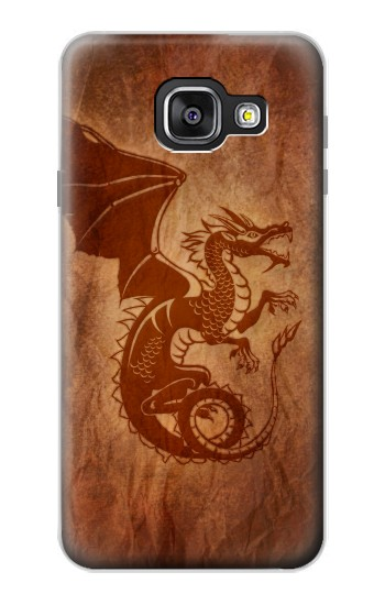 Printed Red Dragon Tattoo Samsung Galaxy A3 (2016) Case