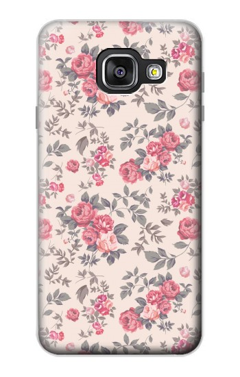 Printed Vintage Rose Pattern Samsung Galaxy A3 (2016) Case