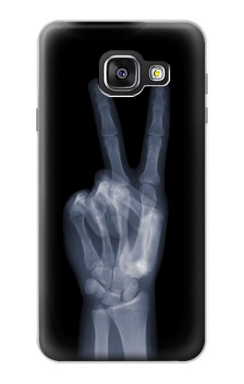 Printed X-ray Peace Finger Samsung Galaxy A3 (2016) Case