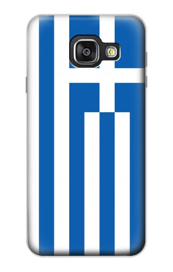 Printed Flag of Greece Samsung Galaxy A3 (2016) Case