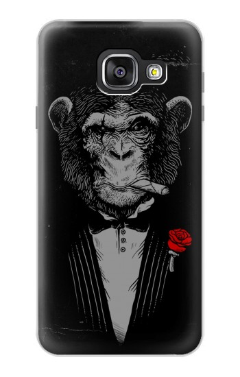 Printed Funny Monkey God Father Samsung Galaxy A3 (2016) Case