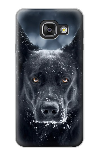 Printed German Shepherd Black Dog Samsung Galaxy A3 (2016) Case