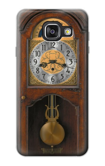 Printed Grandfather Clock Antique Wall Clock Samsung Galaxy A3 (2016) Case