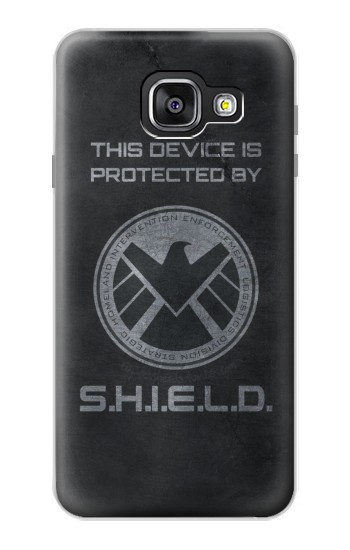 Printed This Device is Protected by Shield Samsung Galaxy A3 (2016) Case