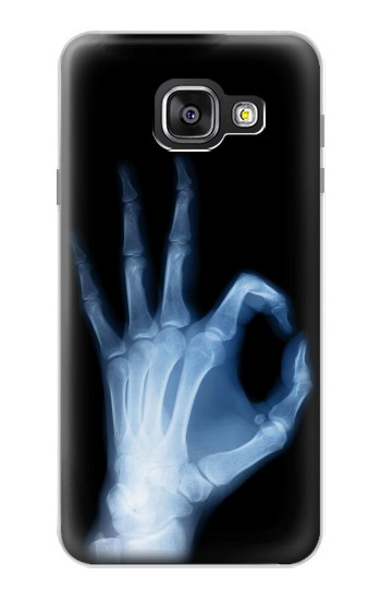 Printed X-Ray Hand Sign OK Samsung Galaxy A3 (2016) Case