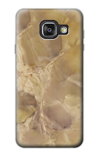 Printed Yellow Marble Stone Samsung Galaxy A3 (2016) Case