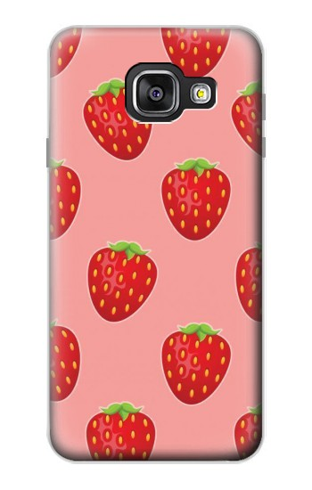Printed Strawberry Fruit Pattern Samsung Galaxy A3 (2016) Case