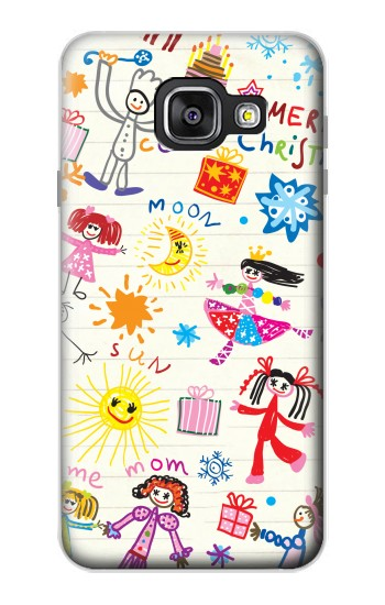 Printed Kids Drawing Samsung Galaxy A3 (2016) Case