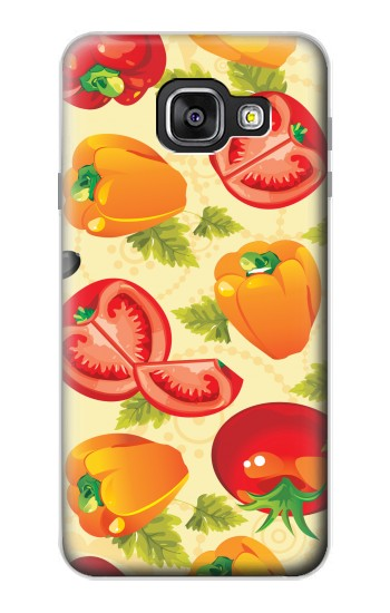 Printed Seamless Food Vegetable Samsung Galaxy A3 (2016) Case