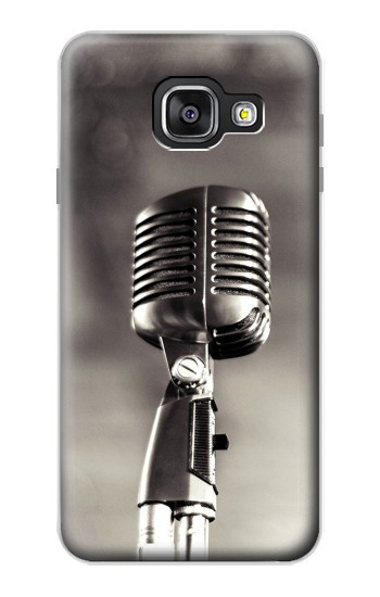 Printed Vintage Microphone Samsung Galaxy A3 (2016) Case