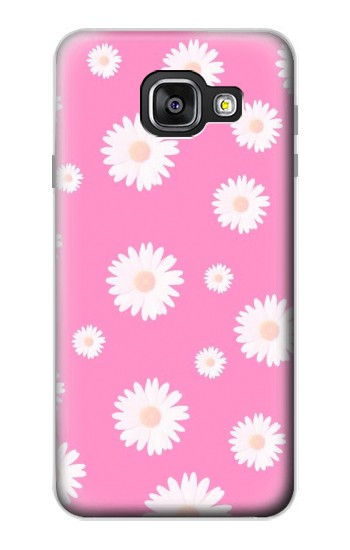 Printed Pink Floral Pattern Samsung Galaxy A3 (2016) Case