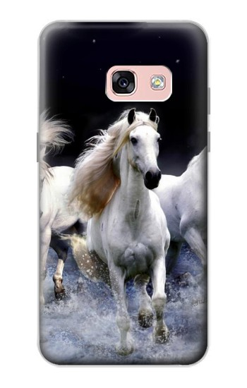 Printed White Horse Samsung Galaxy A3 (2017) Case