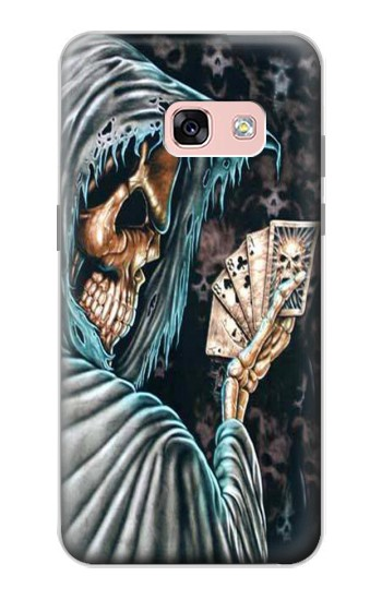 Printed Grim Reaper Death Poker Samsung Galaxy A3 (2017) Case