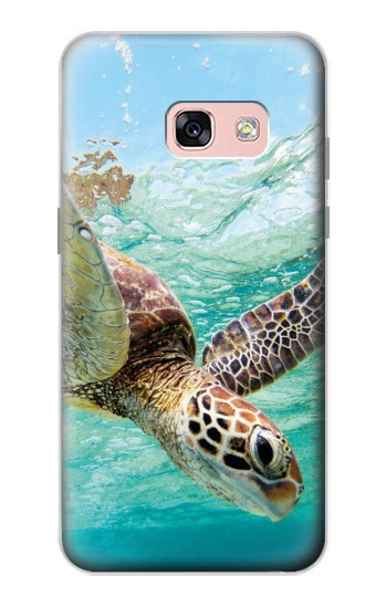 Printed Ocean Sea Turtle Samsung Galaxy A3 (2017) Case