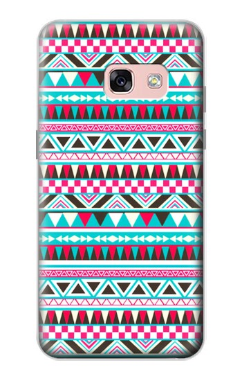 Printed Aztec Pattern Samsung Galaxy A3 (2017) Case