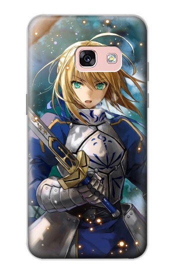 Printed Fate Stay Night Saber Arturia Pendragon Samsung Galaxy A3 (2017) Case