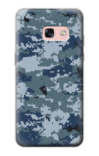Printed Navy Camo Camouflage Graphic Samsung Galaxy A3 (2017) Case