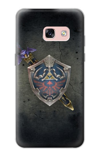 Printed Legend of Zelda Shield Samsung Galaxy A3 (2017) Case