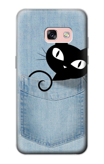 Printed Pocket Cat Samsung Galaxy A3 (2017) Case