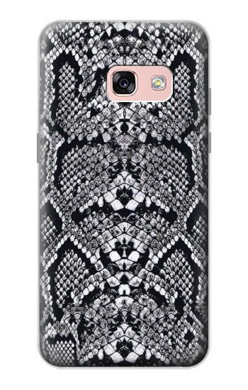 Printed White Rattle Snake Skin Samsung Galaxy A3 (2017) Case
