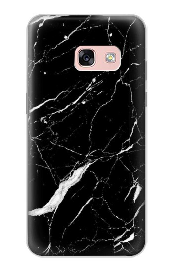 Printed Black Marble Graphic Printed Samsung Galaxy A3 (2017) Case
