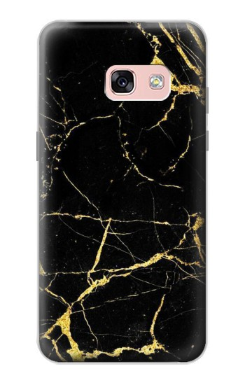 Printed Gold Marble Graphic Printed Samsung Galaxy A3 (2017) Case