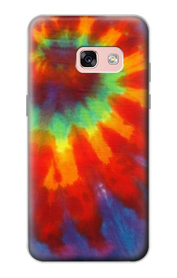 Printed Colorful Tie Dye Fabric Texture Samsung Galaxy A3 (2017) Case