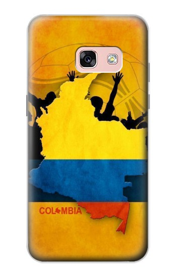 Printed Colombia Football Flag Samsung Galaxy A3 (2017) Case