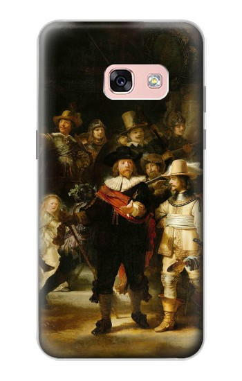 Printed The Night Watch Rembrandt Samsung Galaxy A3 (2017) Case