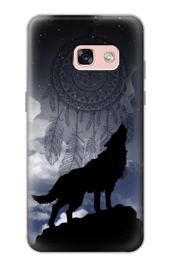 Printed Dream Catcher Wolf Howling Samsung Galaxy A3 (2017) Case