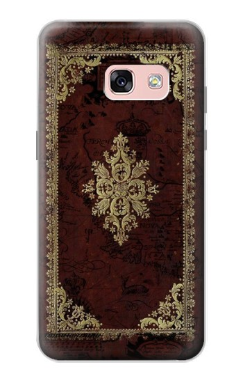 Printed Vintage Map Book Cover Samsung Galaxy A3 (2017) Case