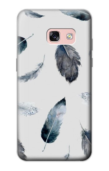 Printed Feather Paint Pattern Samsung Galaxy A3 (2017) Case