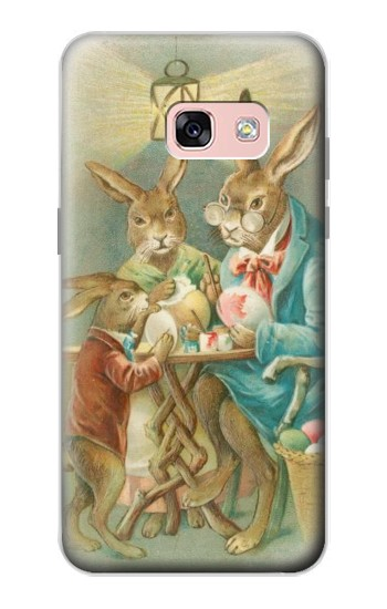 Printed Easter Rabbit Family Samsung Galaxy A3 (2017) Case