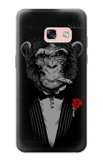 Printed Funny Monkey God Father Samsung Galaxy A3 (2017) Case