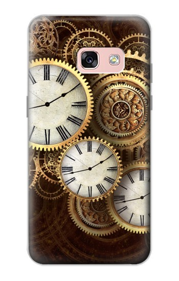 Printed Gold Clock Live Samsung Galaxy A3 (2017) Case