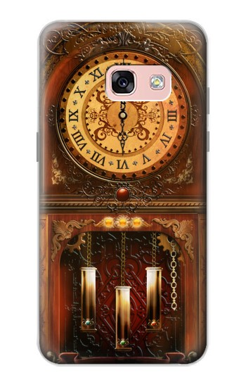 Printed Grandfather Clock Samsung Galaxy A3 (2017) Case