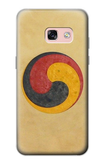 Printed Korean Traditional Drum Samsung Galaxy A3 (2017) Case