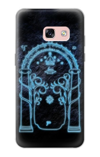 Printed Lord of The Rings Mines of Moria Gate Samsung Galaxy A3 (2017) Case